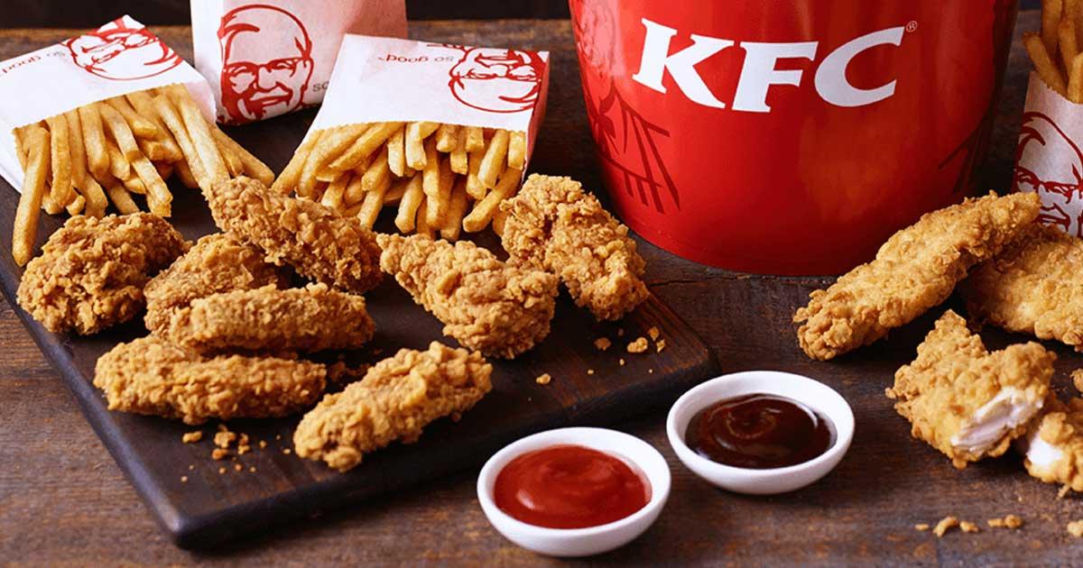 """1,2 milioni di followers ma solo 11 profili seguiti (che spoilerano la """"ricetta"""" segreta di KFC)"""