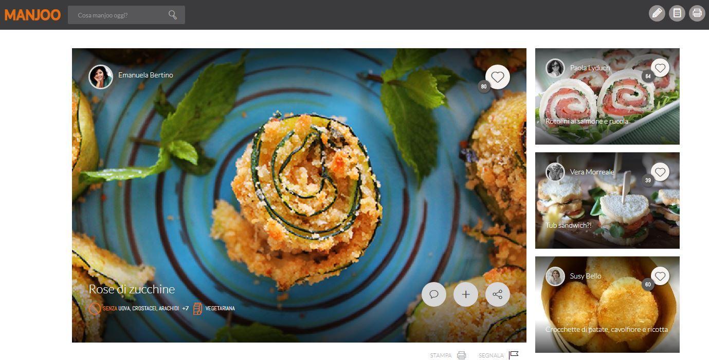 Manjoo è il social network dedicato alla buona cucina e non poteva che nascere in Italia