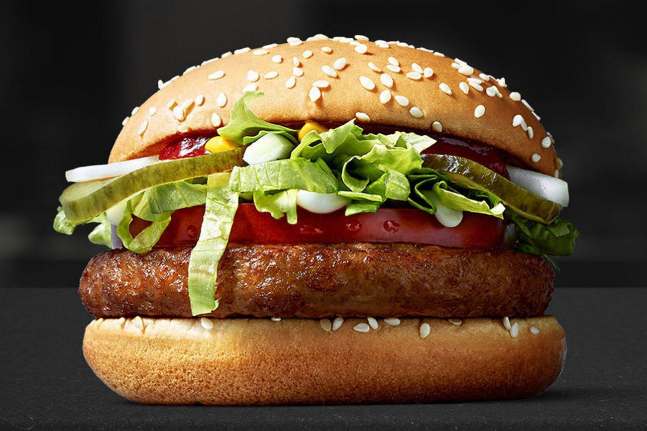 Il panino vegano di McDonald's è (solo) una trovata di marketing?