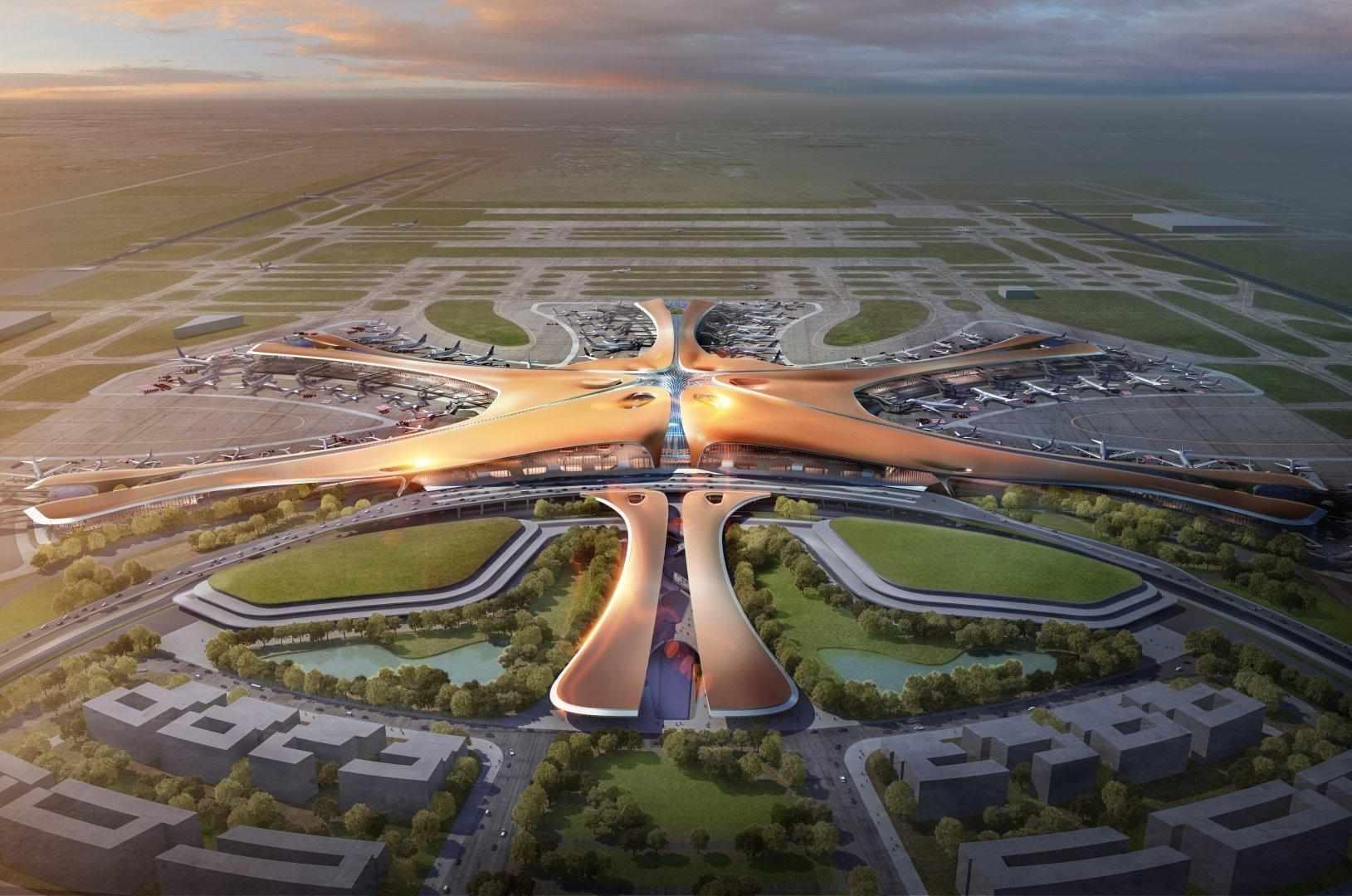 Ecco l'aeroporto più grande del mondo (lo ha disegnato Zaha Hadid)