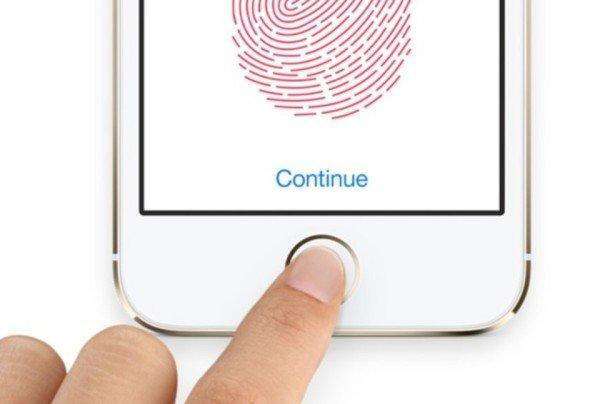 sistema biometrico touch id