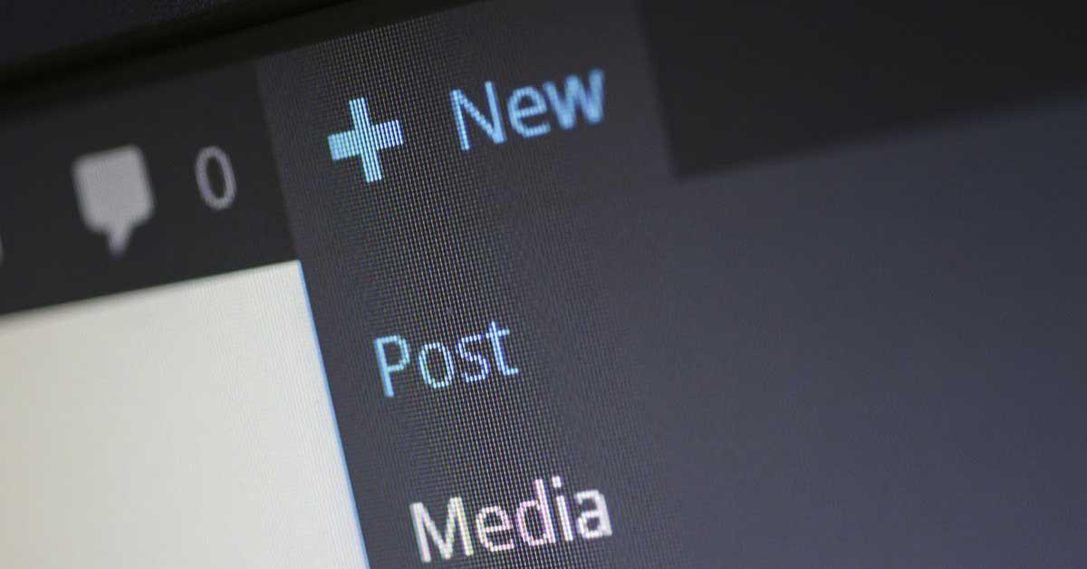 aggiungere un nuovo articolo su wordpress