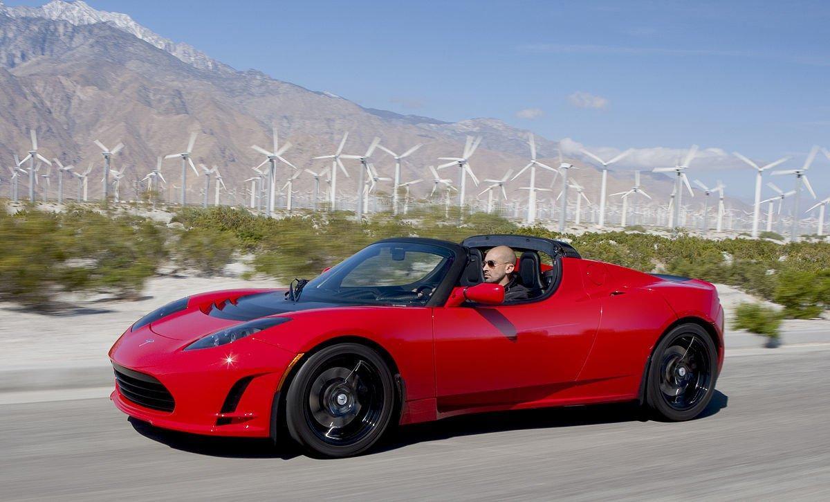 Il primo modello di Roadster
