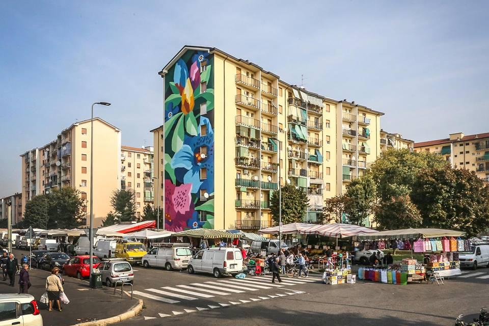 Connessioni in periferia: il murale firmato dagli Orticanoodles per Fastweb