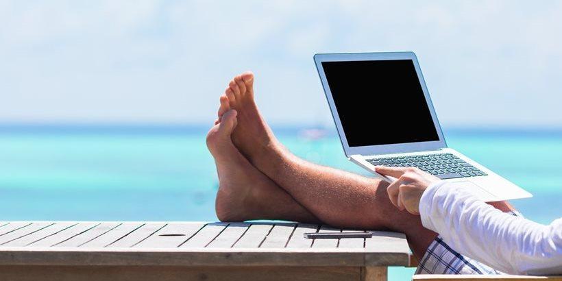 Non si vive di sola città, dateci un coworking in paradiso
