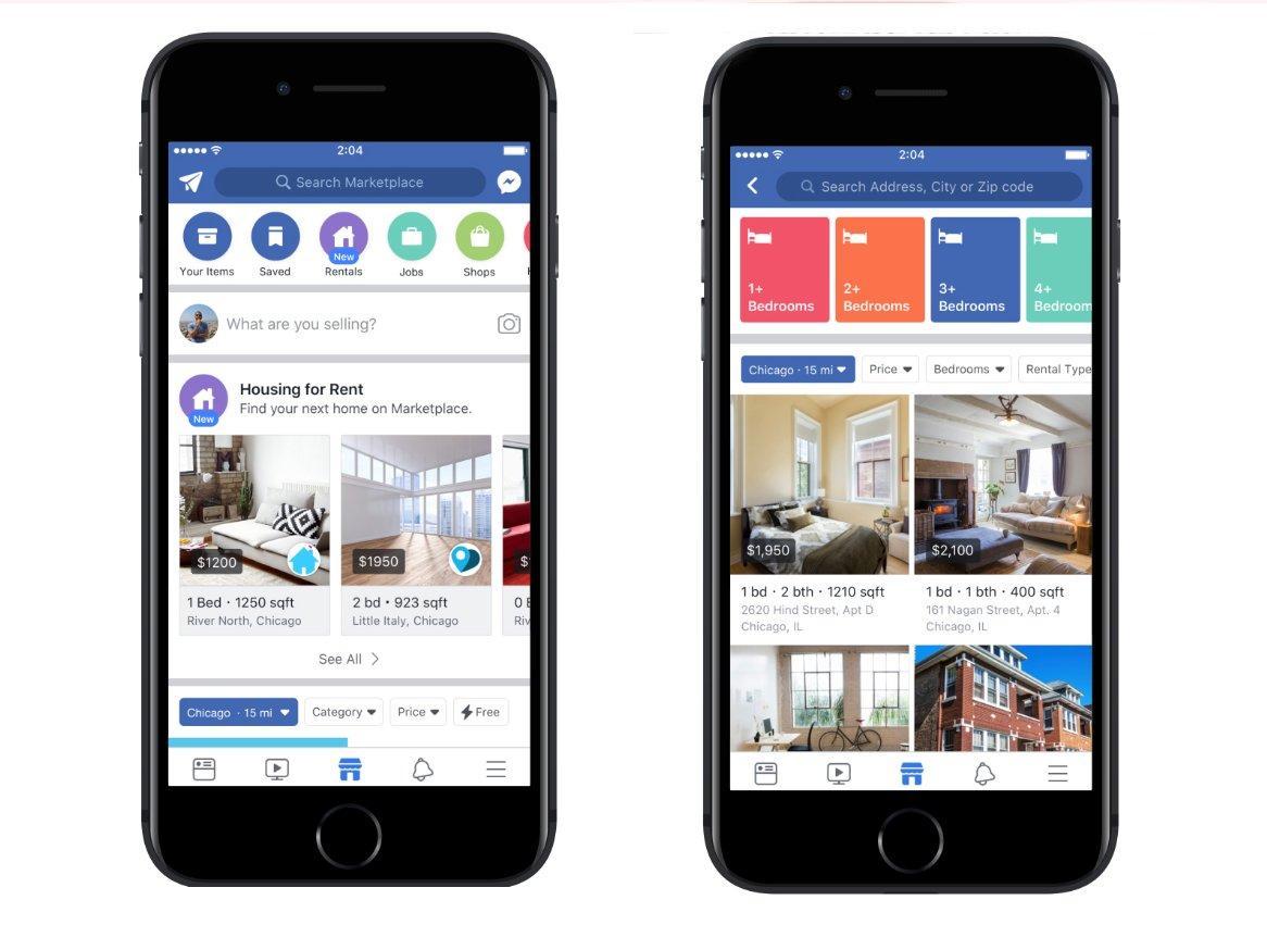 Come trovare o mettere una casa in affitto su Facebook