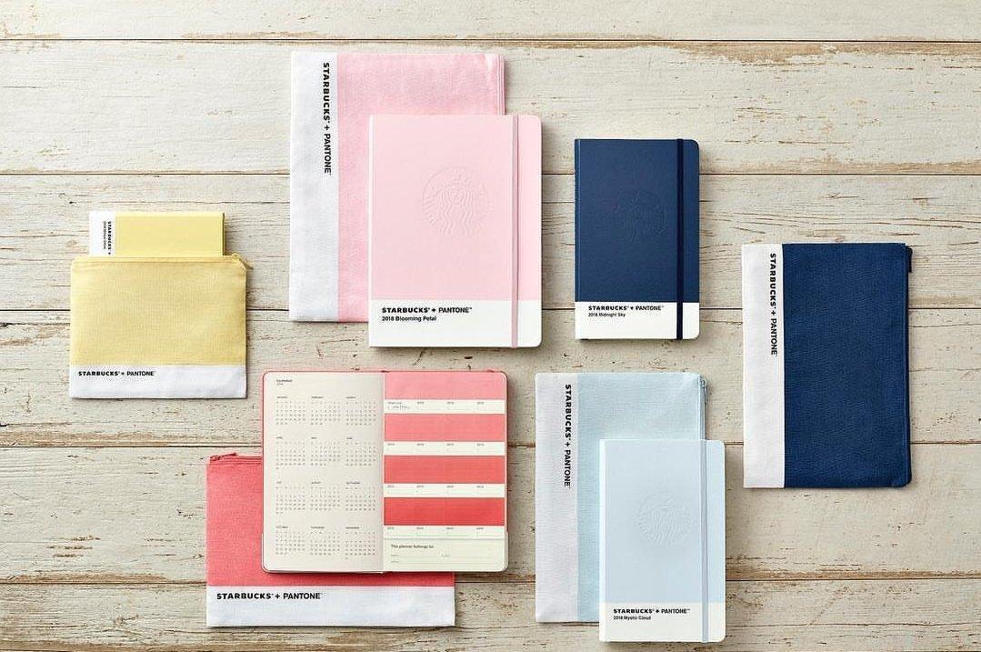 Starbucks e Pantone creano una linea di agende (colorate, of course)