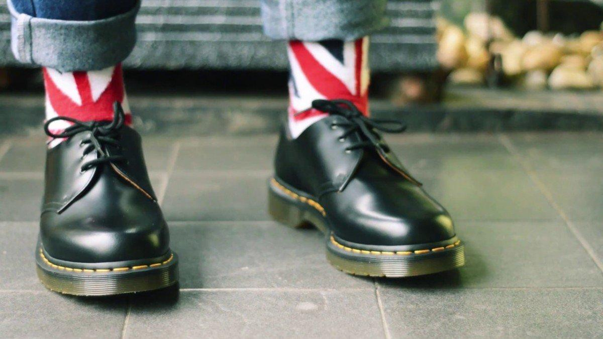 dr martens scarpe business