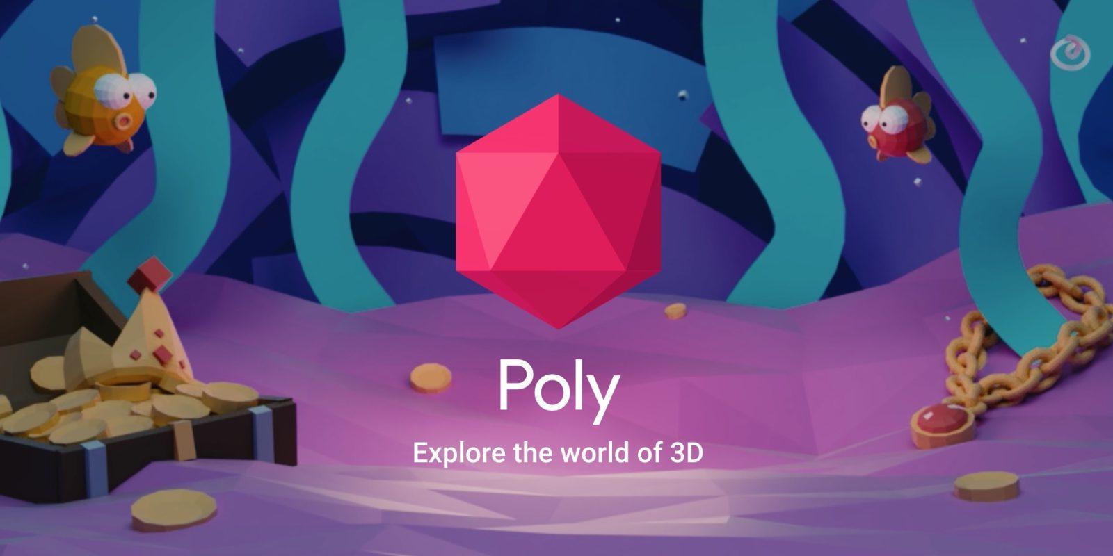 Cos'è Google Poly, la nuova libreria open e gratuita di oggetti 3D