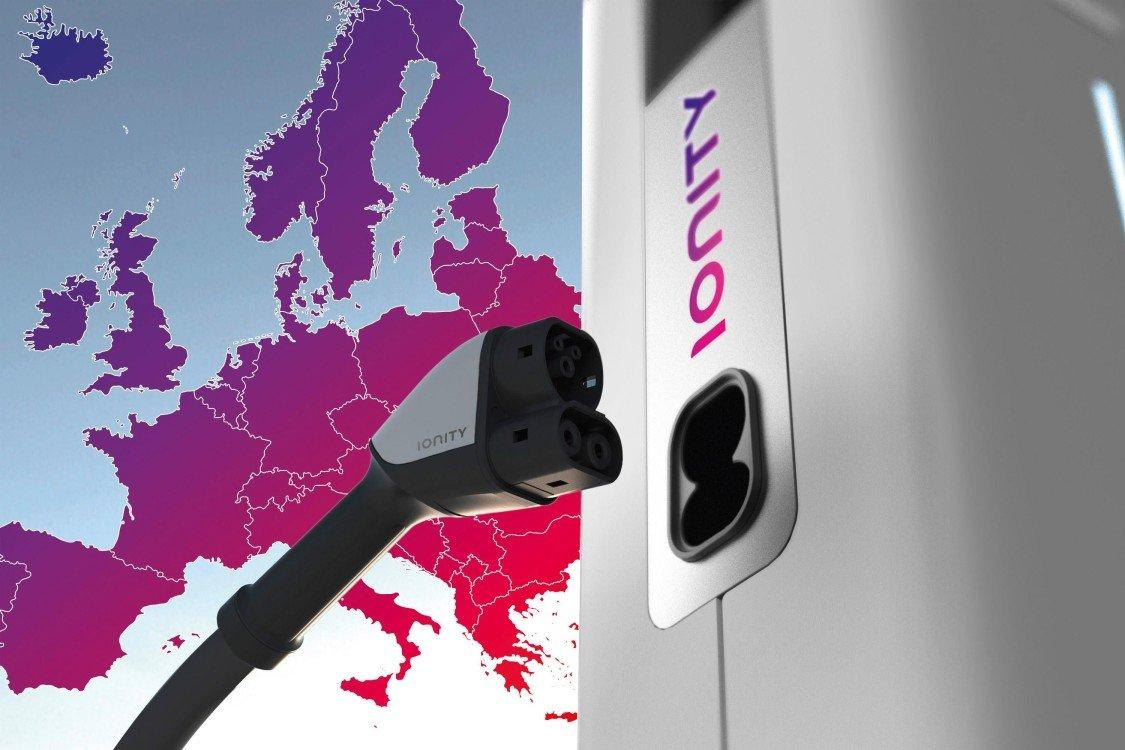 stazioni di ricarica elettrica in europa