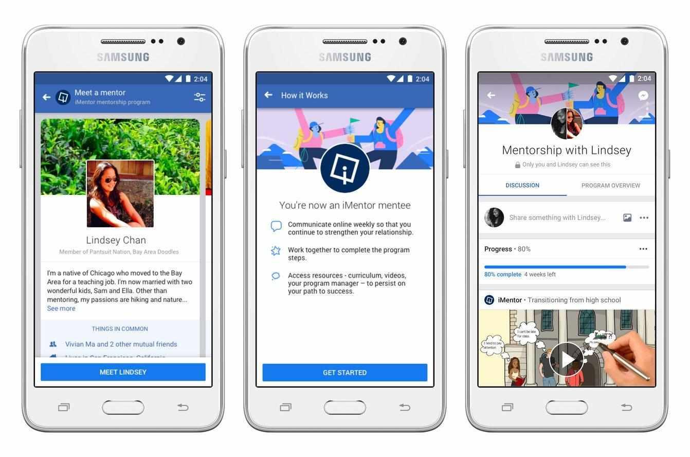 Facebook Mentorship