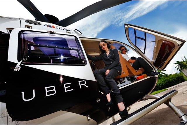 UberAir, i Taxi di nuova generazione non andranno solo più veloci, ma voleranno nel cielo
