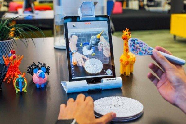Yeehaw Wand, dal modello alla stampa 3D con la realtà aumentata