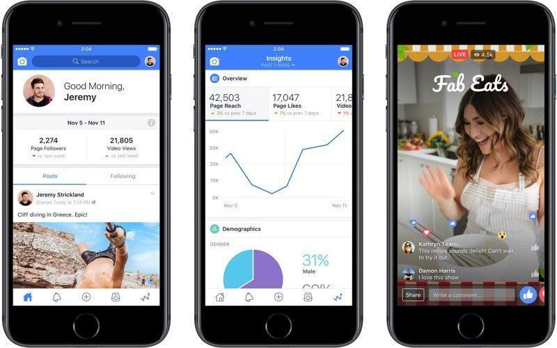 Cosa puoi fare con Creator, la nuova app di Facebook per gli influencer
