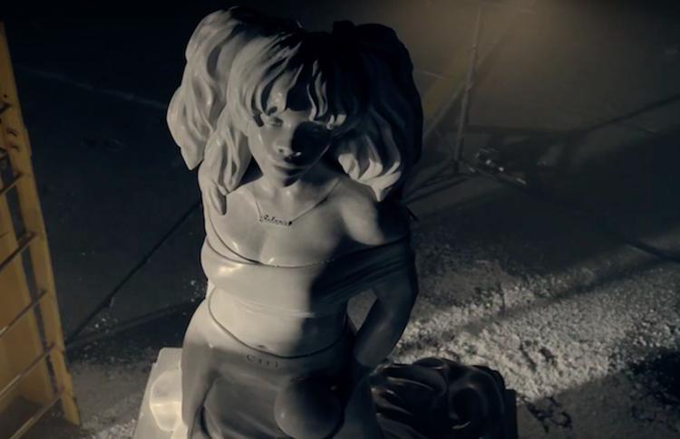 SZA come Afrodite per RapCaviar Pantheon di Spotify.