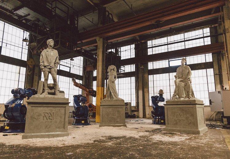 Mero Boomin, Savage 21 e SZA ritratti come le divinità classiche per Pantheon, la campagna Spotify che omaggia RapCaviar