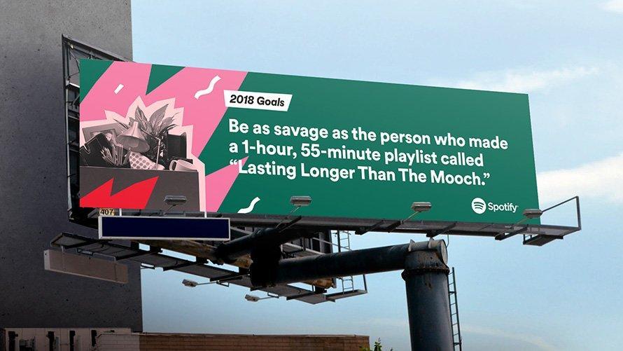 Spotify lo ha rifatto: anche quest'anno le pubblicità data-driven