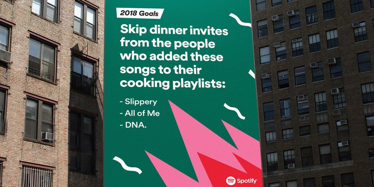 spotify campagna outdoor 2017
