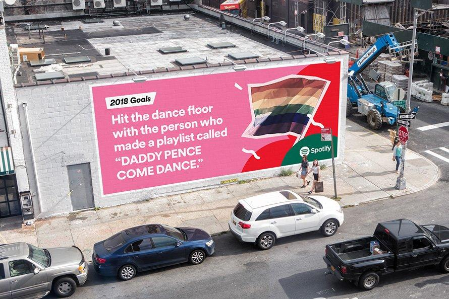 spotify nuova campagna outdoor