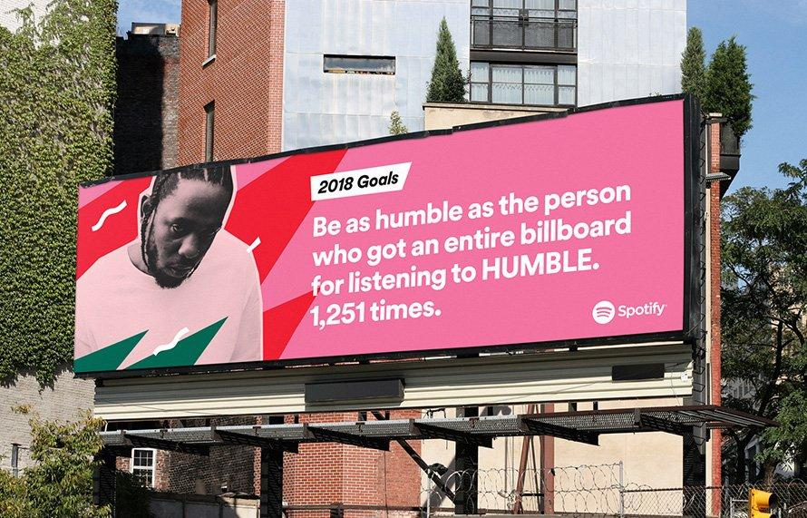spotify outdoor goals 2018