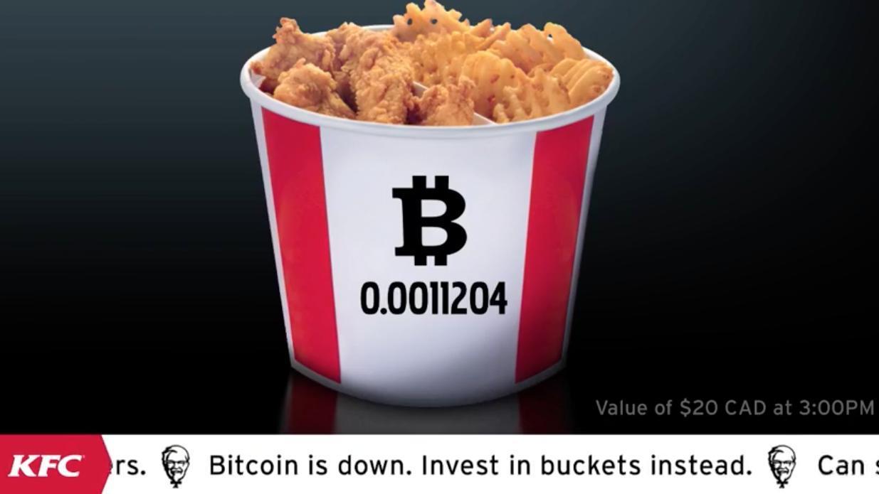 Pagare in bitcoin da KFC: l'ultima trovata del Colonnello Sanders potrebbe non essere solo una strategia di marketing