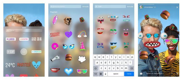 Week in Social: Instagram introduce le GIF nelle Stories e WhatsApp consente pagamenti tra persone