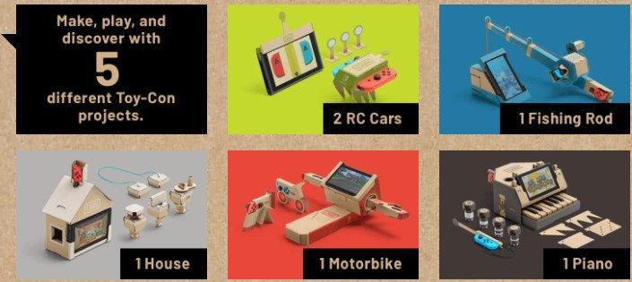 Cos'è il nuovo Nintendo Labo (e perché, sicuramente, lo vorremo tutti)