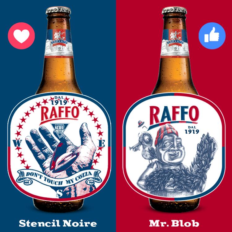 La birra Raffo tra tradizione, territorio e street art
