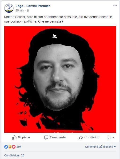 Hackerata la pagina Facebook della Lega. Spinelli e gattini firmati Anonymous