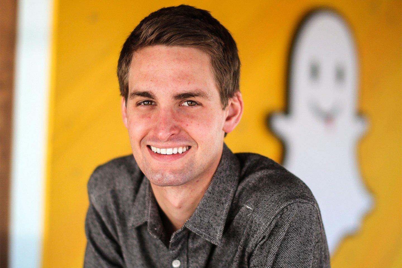 Evan Spiegel, fondatore e CEO Snap