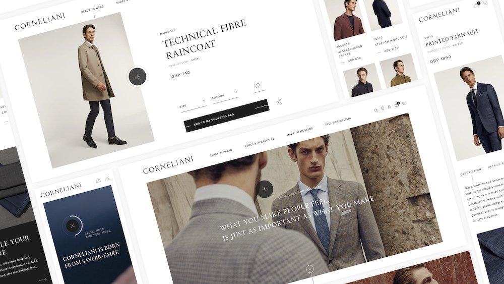 Fashion, Corneliani sceglie Alkemy per il suo nuovo eCommerce