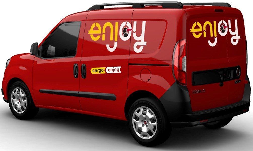 Adesso Enjoy fa noleggiare anche i furgoni