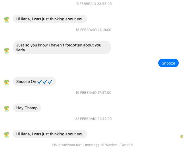 chatbot psicologia comportamentale