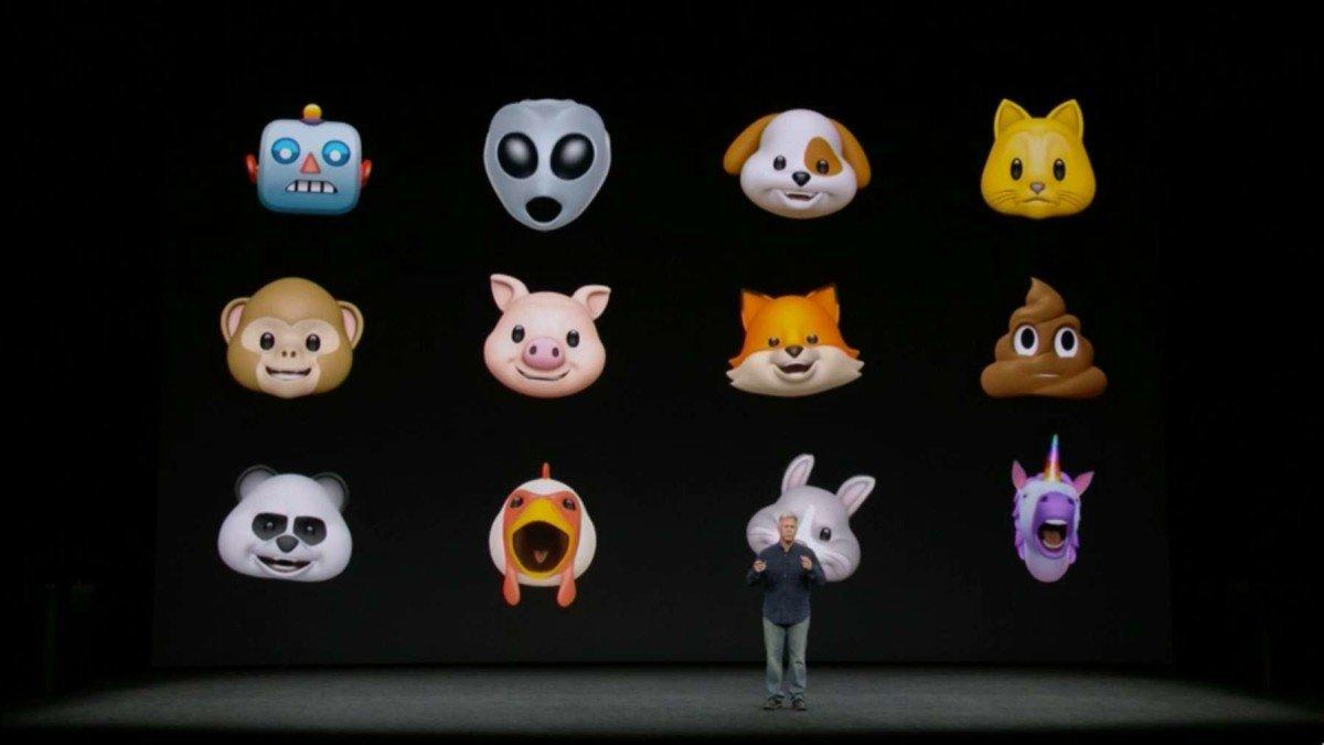 apple iOS animoji
