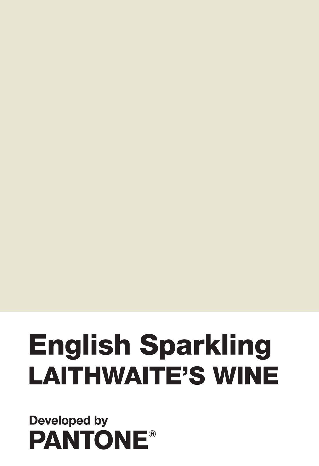 pantone nuovo colore, english sparkling wine