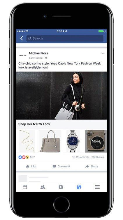 facebook store sale optimization