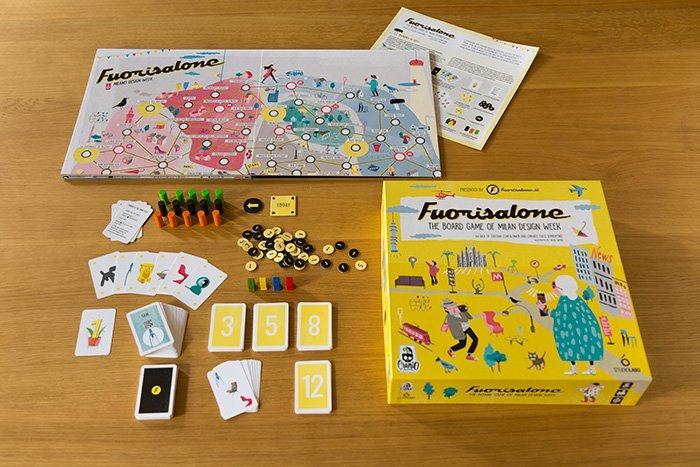 Il Fuorisalone diventa un gioco da tavolo dedicato al design