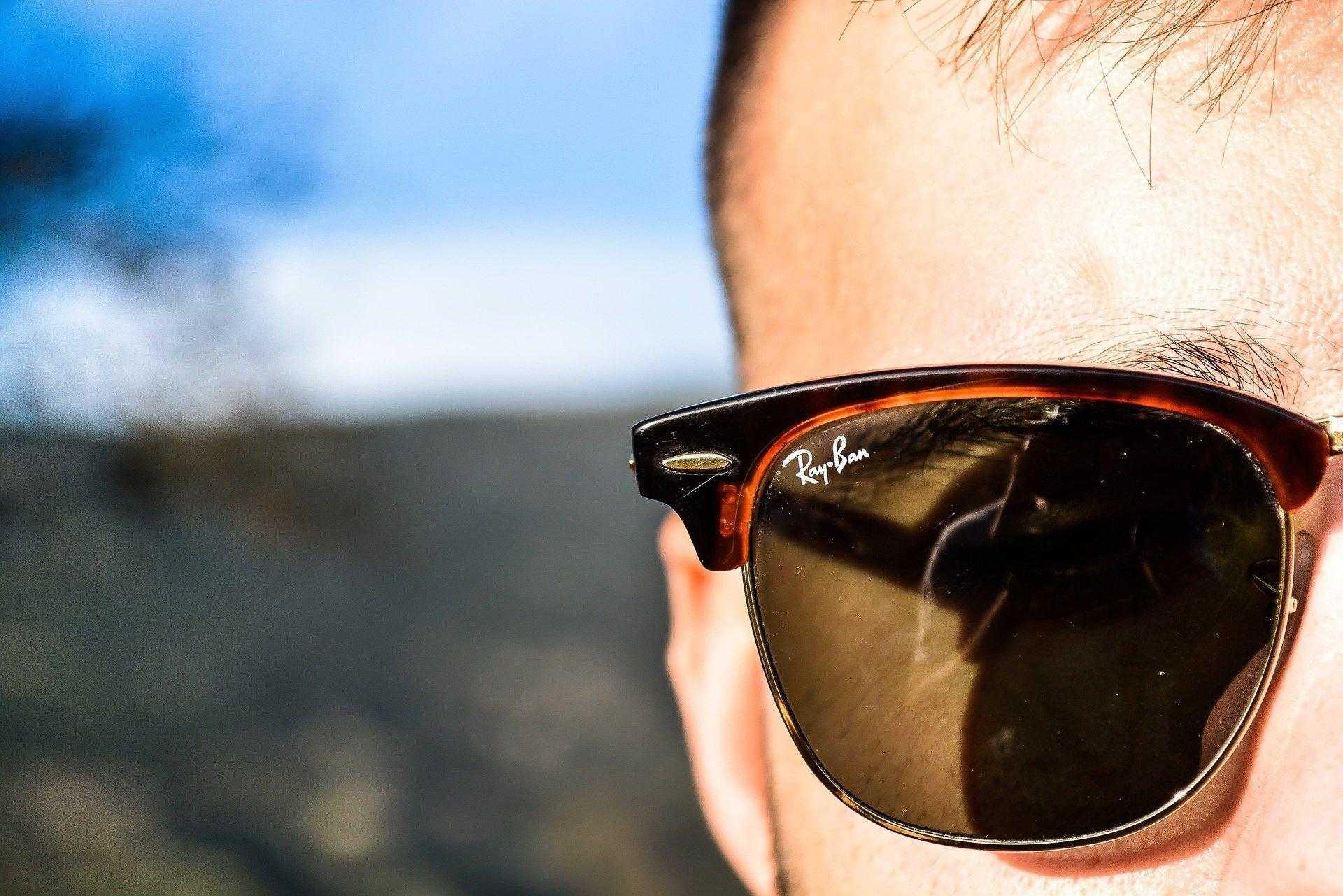 occhiali da sole ray ban realtà aumentata