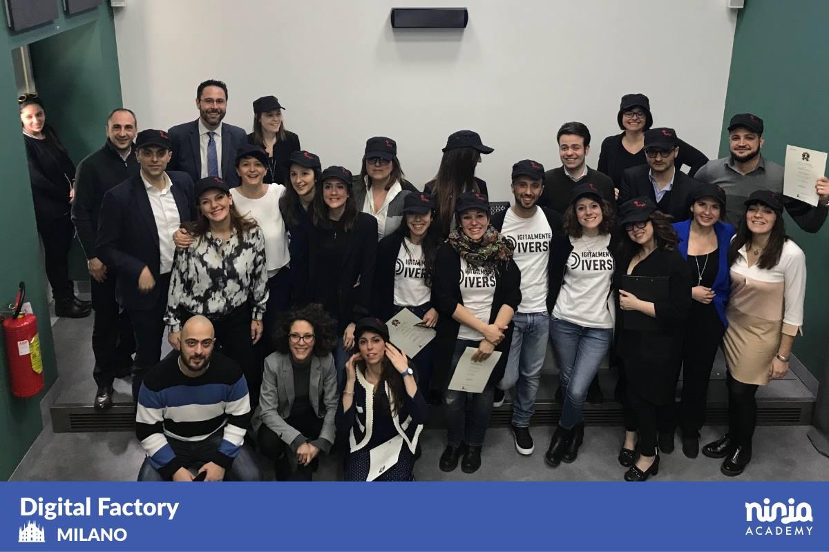 Terzo e ultimo step della Digital Factory 2017: da Roma e Milano è tutto!