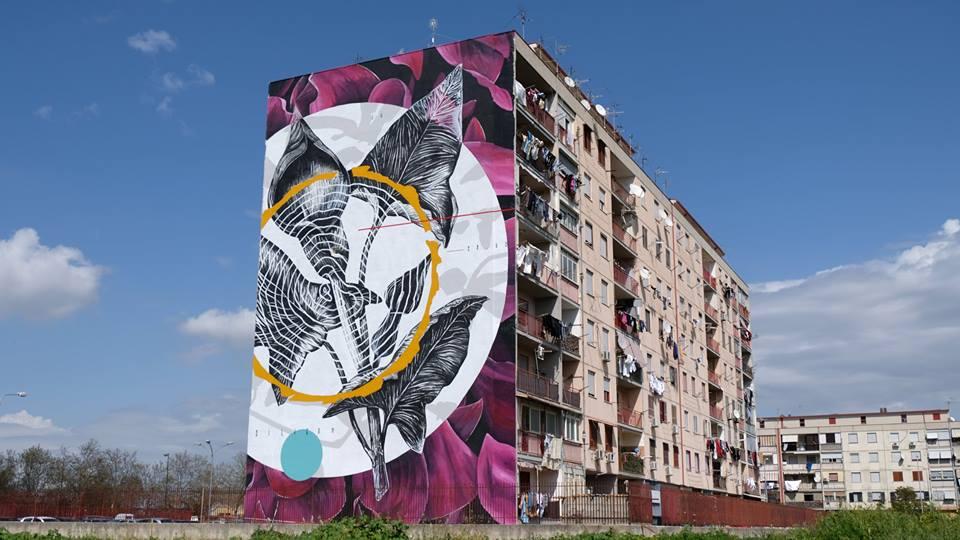 La filosofia colorful di Linvea tra territorio e street art_3