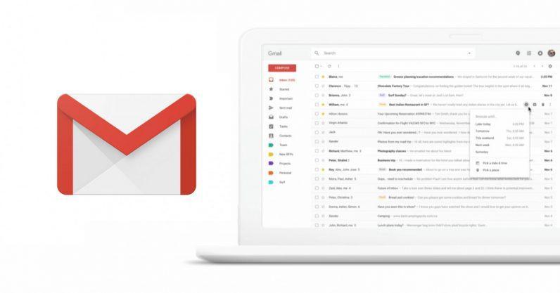 Nuovo look e nuove funzioni presto in arrivo per Gmail