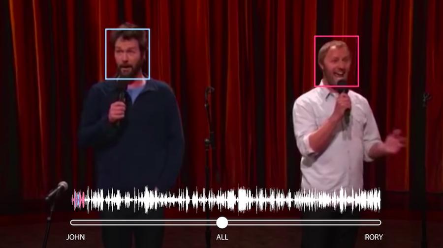 Google ha creato una tecnologia che riconosce (e separa) le voci nei video