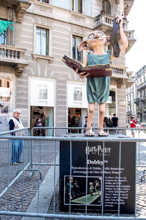 L'universo di Harry Potter invade le piazze di Milano