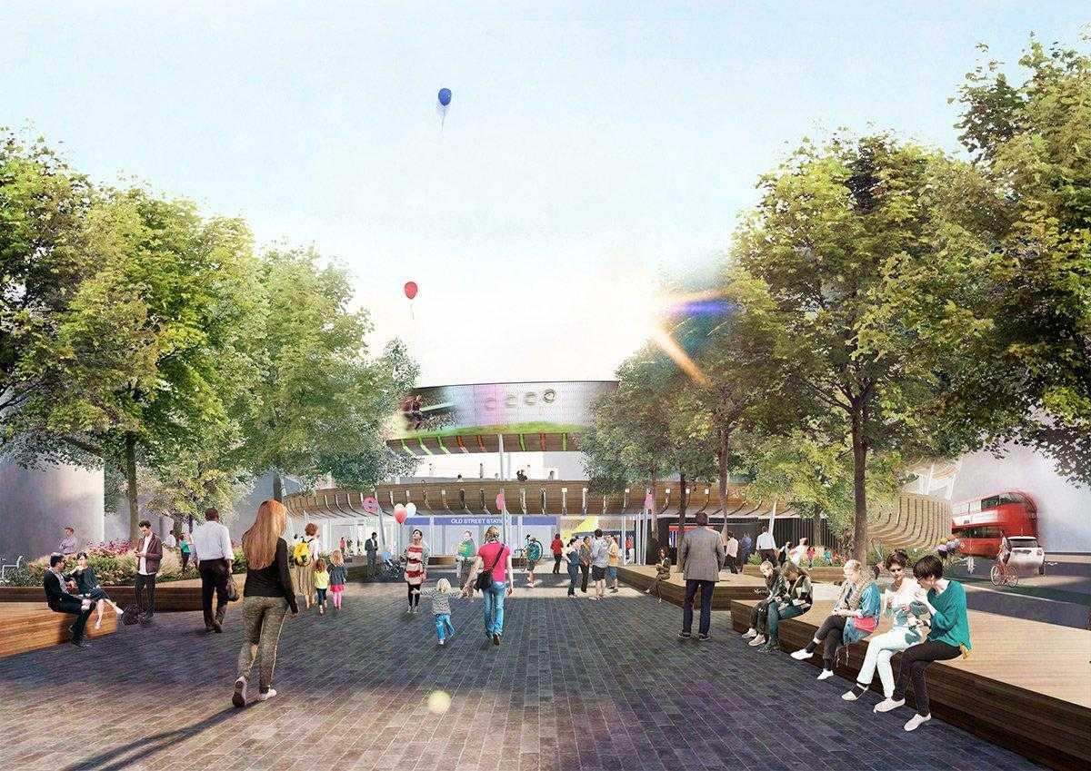 1 milione di sterline per riprogettare il cuore del quartiere economico di Londra