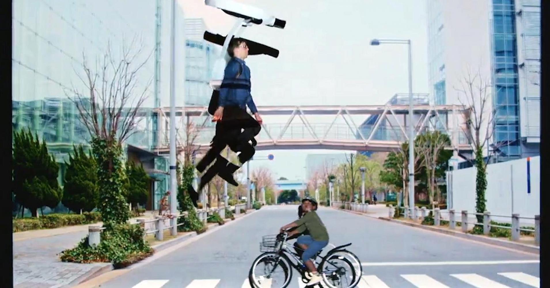 VIDEO Lo zaino di questa startup giapponese ci fa saltare come sulla Luna