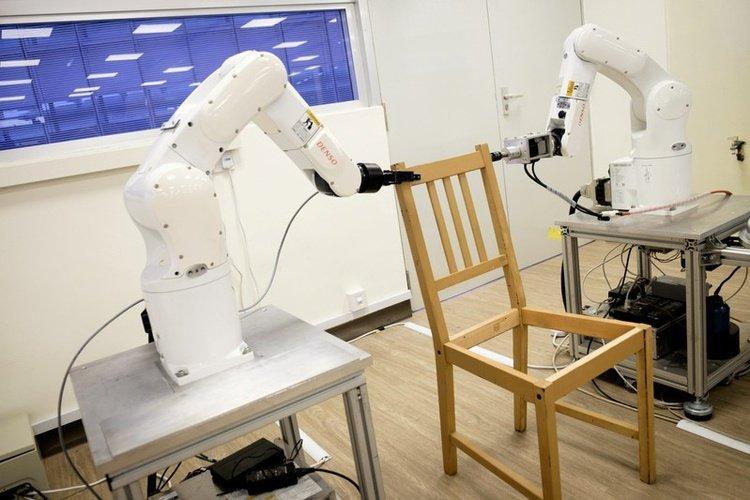 robot ikea chair