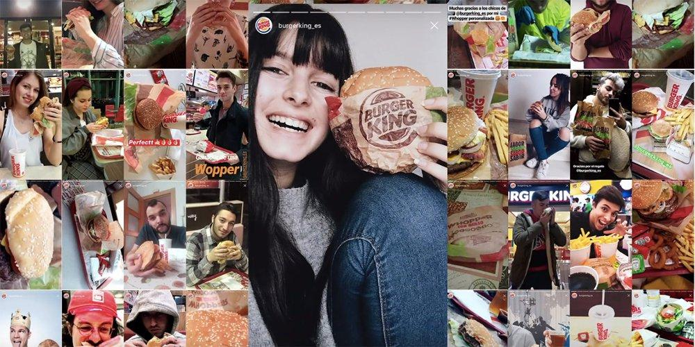 Così Burger King ha coinvolto 45 mila persone con le Instagram Stories in Spagna