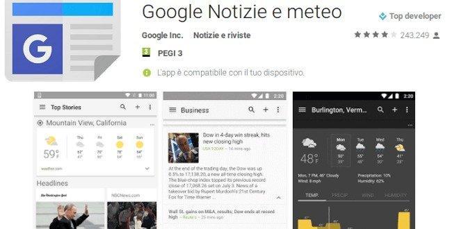 Anche Google News cambia, ecco le novità
