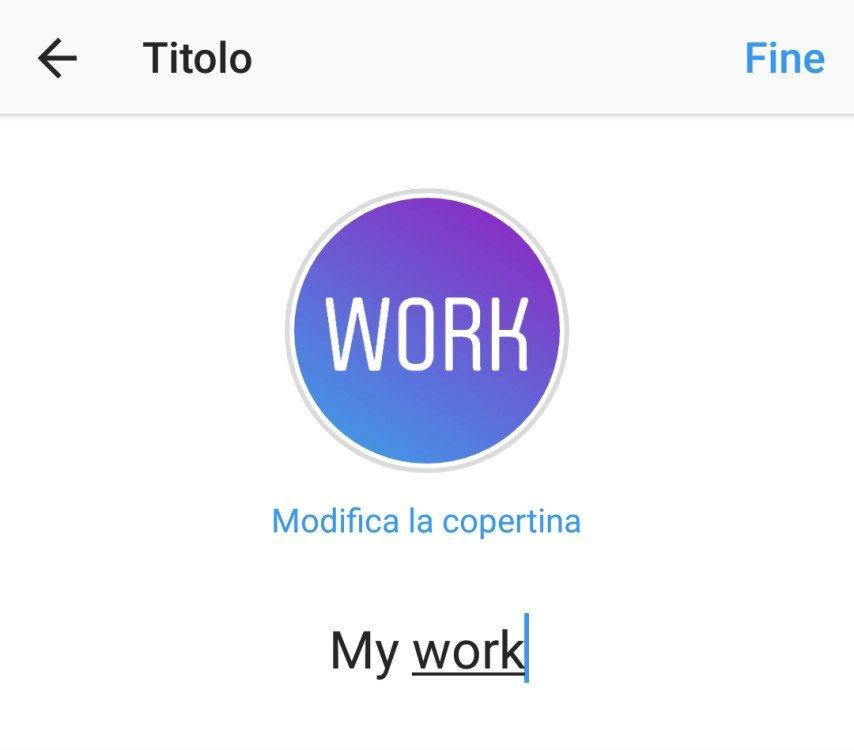 Cover per contenuti in evidenza sul tuo profilo Instagram