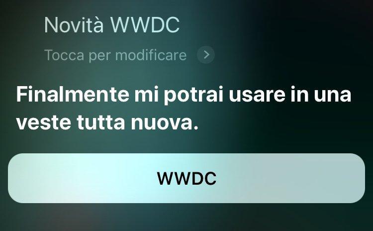 Siri cambia voce e diventa più smart per prepararsi al WWDC 2018